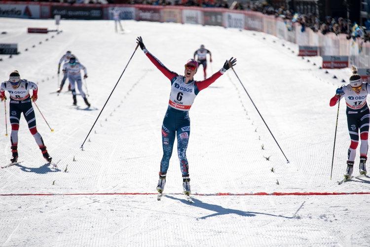 越野滑雪运动员Sadie Bjornsen:感谢Rudy让我的表现更出色